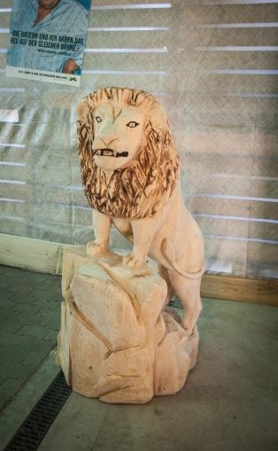 Skulptur Löwe